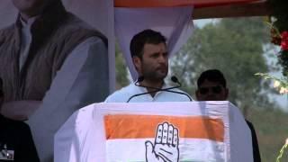 Rahul Gandhi Addressing a Public Rally at Koraput, Orissa on March 31, 2014