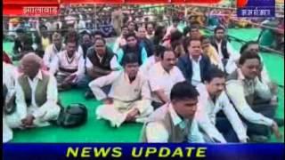 Rjasthan CM Vasundhra Raje on Jhalawad Tour news telecasted on JANTV