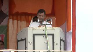 Rahul Gandhi Addresses Public Rally at Udharband, Silchar, Assam, 9 April, 2014