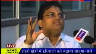S K Surana Editor-in-chief JANTV in RAJ Budget Special Program