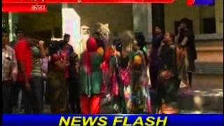 Jewelry theft in kota news telecasted on jantv