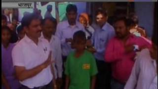 ADM visited Different  local Areas jantv news Bharatpur