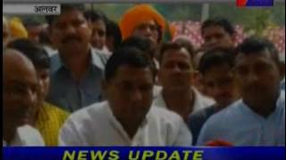 jantv Alwar  MLA DharamPal Chaudhary Martyrs statue unveiling