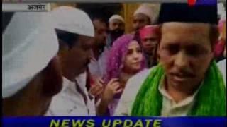 jantv Ajmer Actress Urmila Matondkar visit Ajmer Dargaah