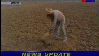 jantv dholpur Lack of water for crops news