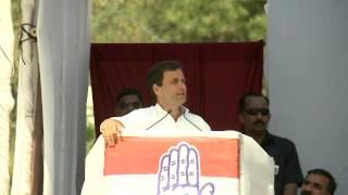 Rahul Gandhi Addresses Public Rally at Solan, Himachal Pradesh on May 1, 2014
