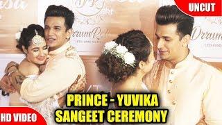Prince Narula & Yuvika Chaudharys Sangeet Ceremony | Watch Video