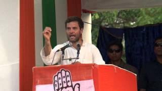 Rahul Gandhi Addresses Public Rally at Kolkata, West Bengal on May 08, 2014