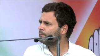 Rahul Gandhi Addresses Public Rally at Debra, West Medinipur, West Bengal on May 8, 2014