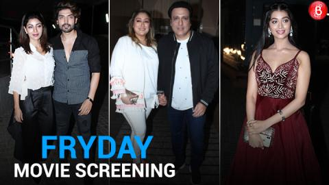 Bollywood Celebs attend the Screening of FryDay