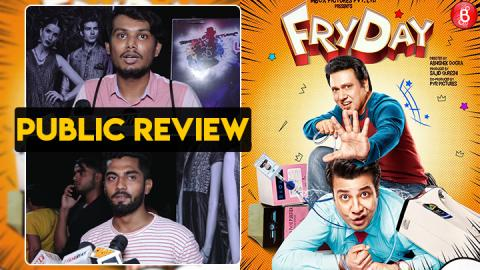 Public Review of Govinda's comeback movie FryDay