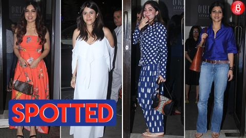 Ekta Kapoor, Konkona Sen Sharma, Bhumi Pendekar & others spotted at Bastian