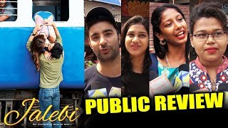 Jalebi PUBLIC REVIEW   First Day First Show   Rhea Chakraborty, Varun Mitra, Digangana