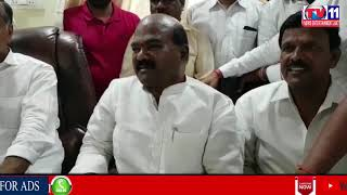 TRS LEADER T HARISH RAO MEETS BJP LEADER KA SATYANARAYANA AT SANGAREDDY