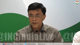 Pawan Khera addresses Media at Congress HQ on Rafale Deal Scam