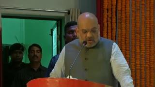 Shri Amit Shah addresses Adhivakta sammelan in Bilaspur, Chhattisgarh