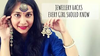 Indian Jewellery Hacks | नवरात्रि, Festive / wedding Jewellery Hacks | Nidhi Katiyar