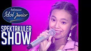 JOA - DARI MATA (JAZ) - SPEKTA SHOWCASE 1 - Indonesian Idol Junior 2018