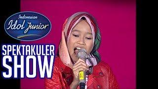 RAISYA - HIP-HIP HURA (Chrisye) - SPEKTA SHOWCASE 1 - Indonesian Idol Junior 2018