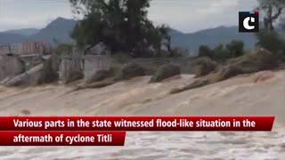 Titli cyclone: Parts of Odisha witness flood-like situation