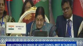 Statement by External Affairs Minister at SCO-Meeting of the Council of Heads of Government
