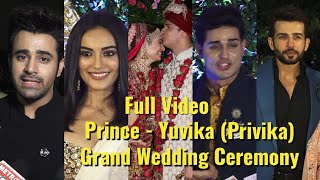 UNCUT:Prince Narula & Yuvika Chaudhary (Privika) GRAND Wedding Ceremony - TV Celebs
