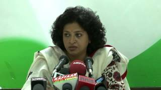 AICC Press Conference addressed by Shobha Ojha on 23 June, 2014