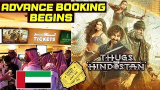 Thugs Of Hindostan Advance Booking In UAE Creates STORM | Aamir Khan, Amitabh, Katrina, Fatima