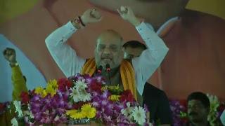 Shri Amit Shah addresses booth karyakarta sammelan in Raipur, Chhattisgarh