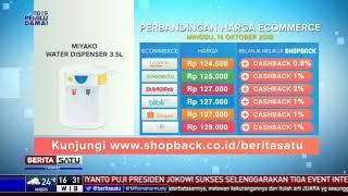 Perbandingan Harga e-Commerce: Miyako Water Dispenser 3.5 L