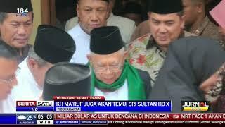Maruf Temui Ulama Jenguk Kiai Yogyakarta