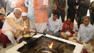 पंचकूला न्यूज़ - हरियाणा मुख्यमंत्री ने की माता मनसा देवी मंदिर में पूजा