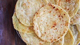 Resep ROTI CANAI atau Roti Pratta