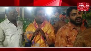 [ Hyderabad ] हैदराबाद में आज नवरात्रि का उत्साह देखने को मिला, साथ ही एक जागरण भी आयोजित हुआ