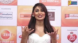 Kum Kum Bhagya Sriti Jha At Zee Rishtey Awards 2018