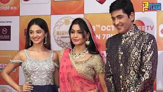 Bhabi Ji Ghar Par Hai Team Shubhangi Atre & Aashif Shaikh At Zee Rishtey Awards 2018