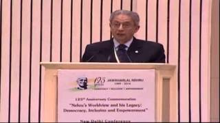Amre Moussa's speech on Jawaharlal Nehru Commemorative International Conference 2014