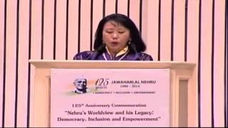 HM Queen Mother of Bhutan's speech on Jawaharlal Nehru Commemorative International Conference