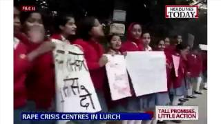 BJP shuts down Nirbhaya crisis centers