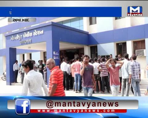 Ahmedabad: Former BJP MLA Jitu Vaghela misbehaved with the Police of Gomtipur