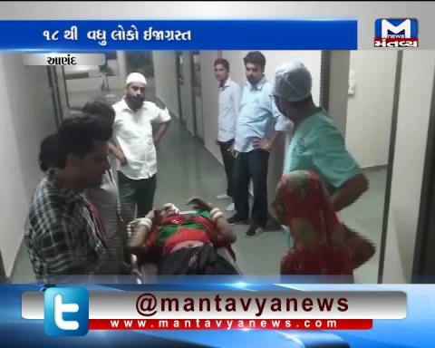 Anand: More than 18 injured in accident between Truck & Jeep