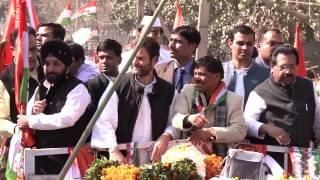 Rahul Gandhi  Jan Sampark Yatra at Sultanpur Majra Vidhan Sabha, Delhi | 05 February, 2015
