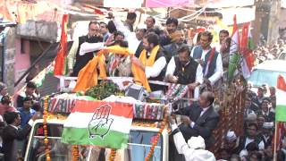 Rahul Gandhi roadshow in Sultanpur, Delhi | 05 February, 2015