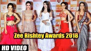 Zee Rishtey Awards 2018   Red Carpet   Full Video   Surbhi Jyoti, Amruta Khanvilkar, Asha Negi