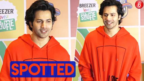 Varun Dhawan & Raftaar at the media interaction of 'Breezer Vivid Shuffle Season 2'