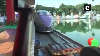 Bullet train replica sent to Durga Puja pandal in Kolkata