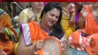 Saurashtra : Navlanguage worship by devotees in Navala Norata