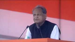 Ashok Gehlot  addresses Kisan-Khet-Majdoor Rally at Ramlila Maidan, Delhi | 19 April, 2015