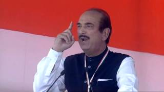 Ghulam Nabi Azad addresses Kisan-Khet-Majdoor Rally at Ramlila Maidan, Delhi | 19 April, 2015