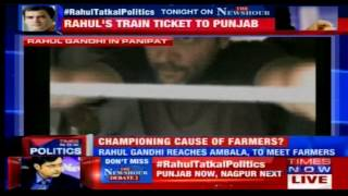 Rahul Gandhi meet farmers in Mandi, Punjab | 28 April, 2015